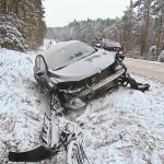 zdarzenie drogowe Rudzki Młyn 12.12.12-1