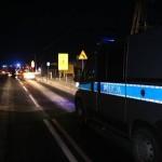 wypadek śmiertelny 27.02.2013 Tuchola szosa Bydgoska 2
