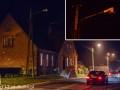 Oświetlenie uliczne Tuchola ul. Stara (lampy uliczne, przepalone)12.2013-1-2