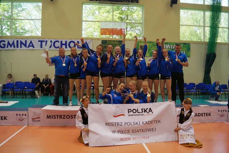 Mistrzynie Polski UKS Orzeł Malbork