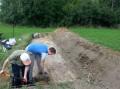 Wykopaliska Burchat Gostycyn 8.2014 1