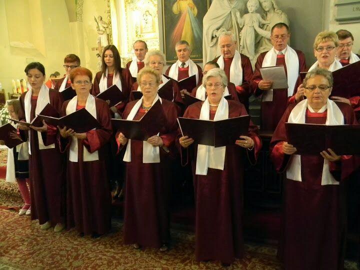 Zakończenie Obchodów 750lecia parafii Śliwice 14.09.2014 3