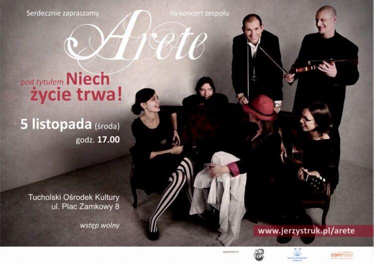 Koncert Arete TOK Tuchola 2.11.2014 1