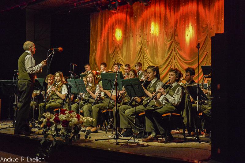 Koncert Reprezentacyjna Orkiestra Lasów Państwowych przy Technikum Leśnym w Tucholi 95 rocznica wyzwolenia Tucholi TOK 29.01.2015-13