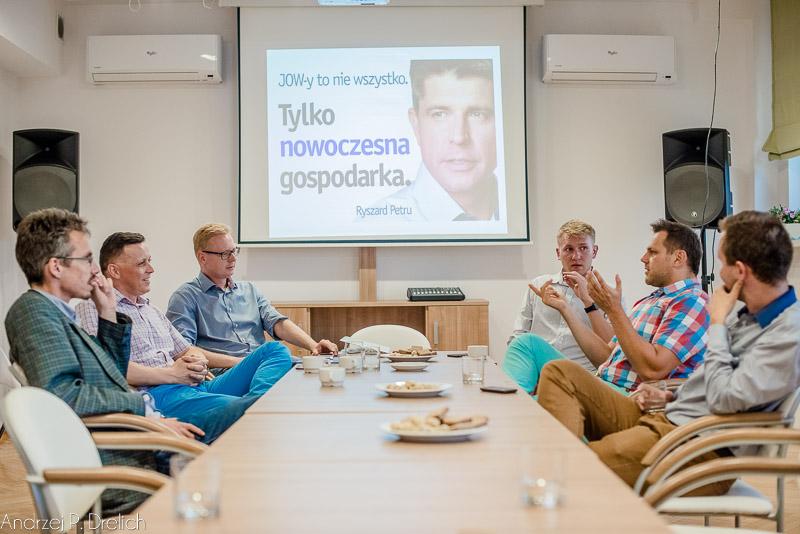 Nowoczesna  - spotkanie 26.08.2015 ZAZ Tuchola  -1