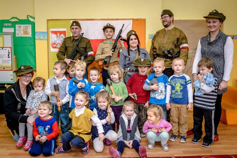 Święto Niepodległości Przedszkole Cekcyn 11.2015 2