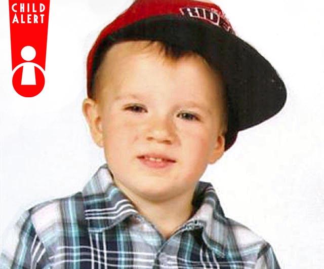 Child Alert Zaginiony 3-letni Fabian Radom 24.11.2015 zdjęcie (fot. Policja)