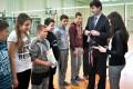 Mistrzostwa Powiatu w Mini Piłce Siatkowej Chłopców 02.2016 ZS Cekcyn 4