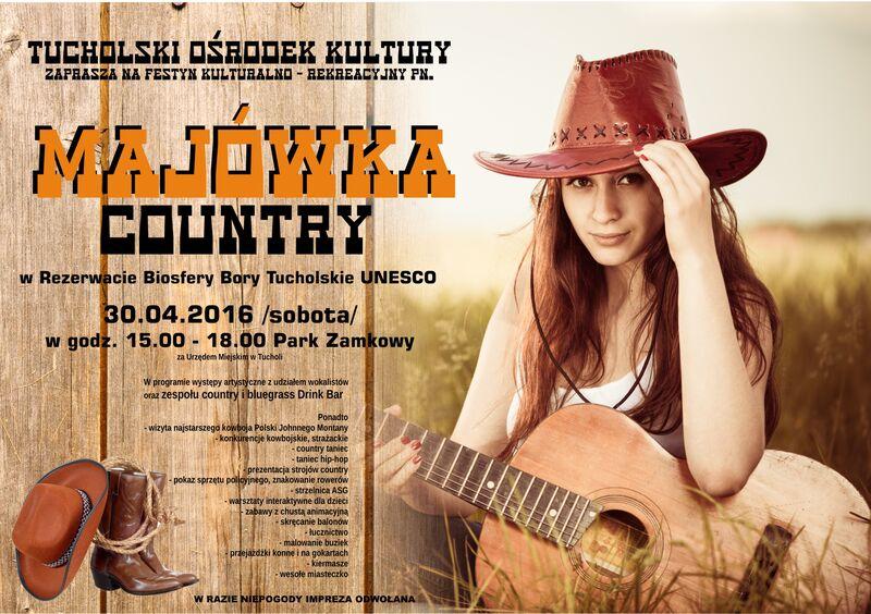 MAJÓWKA Country 30.04.2016 TOK Tchola
