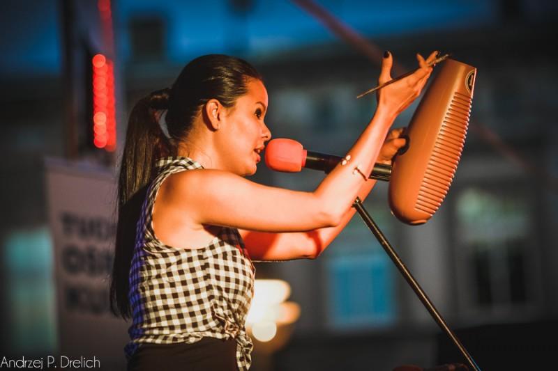 Koncert Maria Rodriguez Band rynek Tuchola TOK 16.07.2016-32